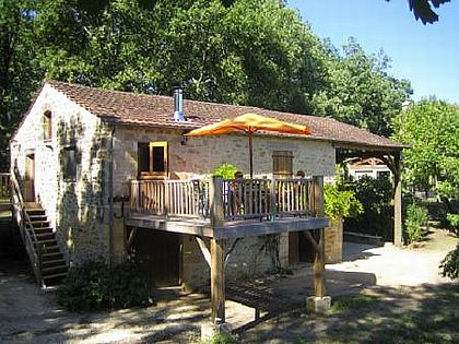 Les Bruguettes - Barn in St. Cybranet, Dordogne