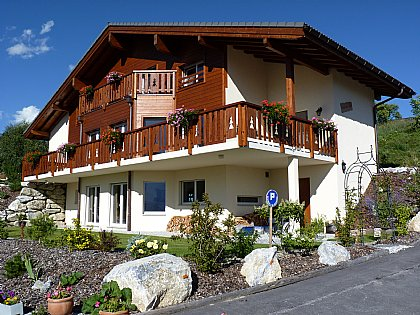 Chalet des Alpes - Bed & Breakfast in Crans Montana, Valais/Swiss Alps