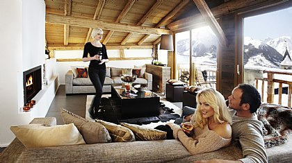 Abode - Chalet in St Martin de Belleville, The Three Valleys, Savoie