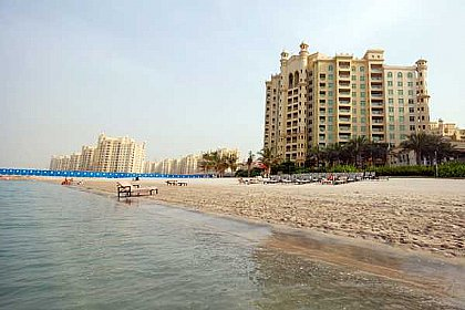 Two Bedroom Beach Front Apartment For Rent In Dubai Palm Jumeirah Island