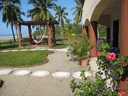 front terrace w/hammock
