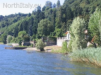 Meina, Town in Lake Maggiore, Italy