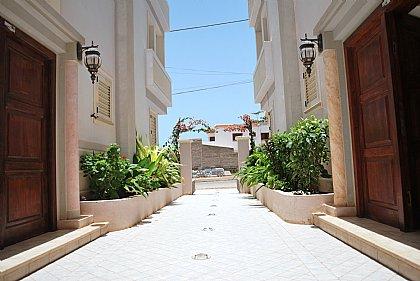 Entrance to Oasis Palmeira
