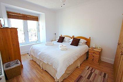 Penhale Villa Holiday Home Balcony Bedroom