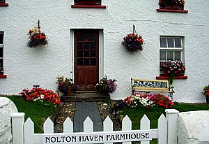 Nolton Haven Farmhouse - Nolton Haven, Haverfordwest, Pembrokeshire Farmhouse