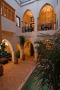 Riad Cinnamon - Bed & Breakfast in Medina, Marrakech City, Marrakech Region